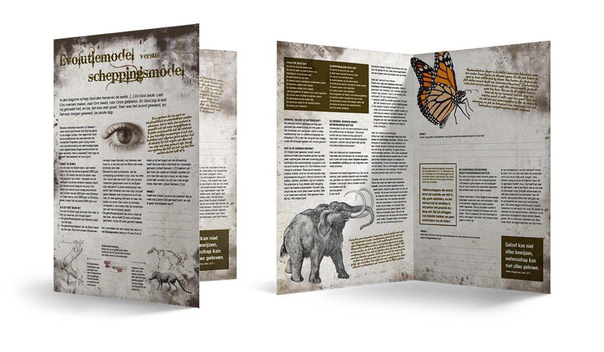 Bijbelstudie 1. Evolutiemodel versus scheppingsmodel.